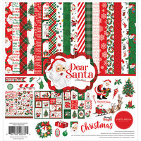 Carta Bella Paper - Dear Santa Collection - 12 x 12 Collection Kit