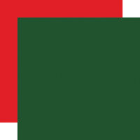 Carta Bella Paper - Dear Santa Collection - 12 x 12 Double Sided Paper - Dark Green