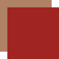 Carta Bella Paper - Dear Santa Collection - 12 x 12 Double Sided Paper - Red