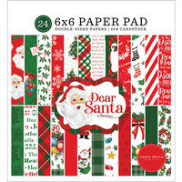 Carta Bella Paper - Dear Santa Collection - 6 x 6 Paper Pad