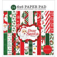 Carta Bella Paper - Dear Santa Collection - 6 x 6 Paper Pad