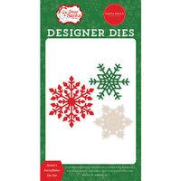 Carta Bella Paper - Dear Santa Collection - Designer Dies - Santa's Snowflakes
