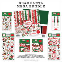 Carta Bella Paper - Dear Santa Collection - Mega Bundle