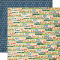 Carta Bella Paper - Dinosaurs Collection - 12 x 12 Double Sided Paper - Dinos Rule