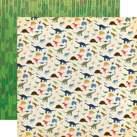 Carta Bella Paper - Dinosaurs Collection - 12 x 12 Double Sided Paper - I Love Dinosaurs