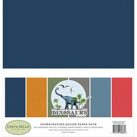 Carta Bella Paper - Dinosaurs Collection - 12 x 12 Paper Pack - Solids