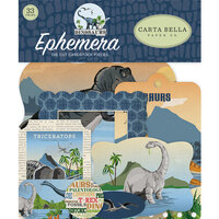 Carta Bella Paper - Dinosaurs Collection - Ephemera
