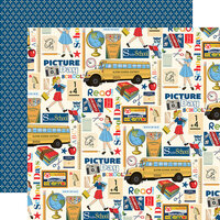 Carta Bella Paper - School Days Collection - 12 x 12 Double Sided Paper - School Days