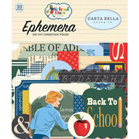 Carta Bella Paper - School Days Collection - Ephemera