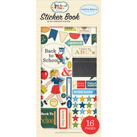 Carta Bella Paper - School Days Collection - Cardstock Sticker Book
