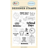 Carta Bella Paper - School Days Collection - Clear Photopolymer Stamps
