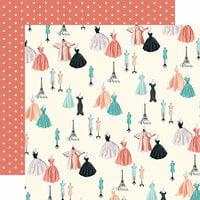Carta Bella Paper - En Vogue Collection - 12 x 12 Double Sided Paper - Dress Shop1