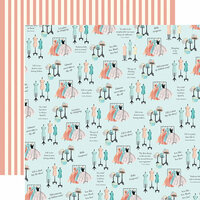 Carta Bella Paper - En Vogue Collection - 12 x 12 Double Sided Paper - Fashion Week