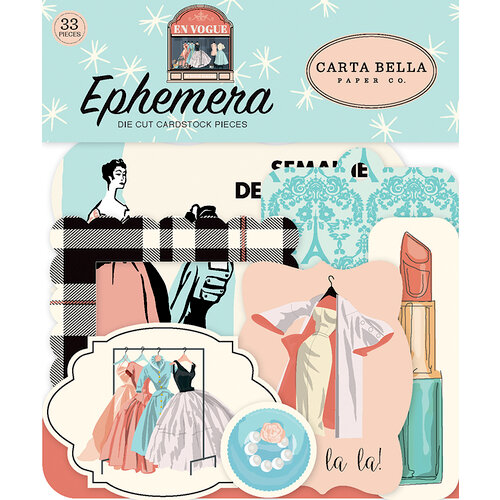 Carta Bella Paper - En Vogue Collection - Ephemera