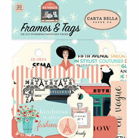 Carta Bella Paper - En Vogue Collection - Frames and Tags