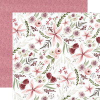 Carta Bella Paper - Flora No. 3 Collection - 12 x 12 Double Sided Paper - Elegant Large Floral