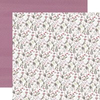 Carta Bella Paper - Flora No. 3 Collection - 12 x 12 Double Sided Paper - Elegant Small Floral