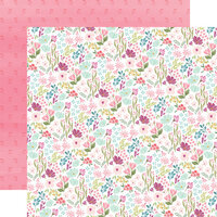 Carta Bella Paper - Flora No. 3 Collection - 12 x 12 Double Sided Paper - Bright Small Floral