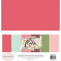 Carta Bella Paper - Flora No. 3 Collection - 12 x 12 Paper Pack - Solids