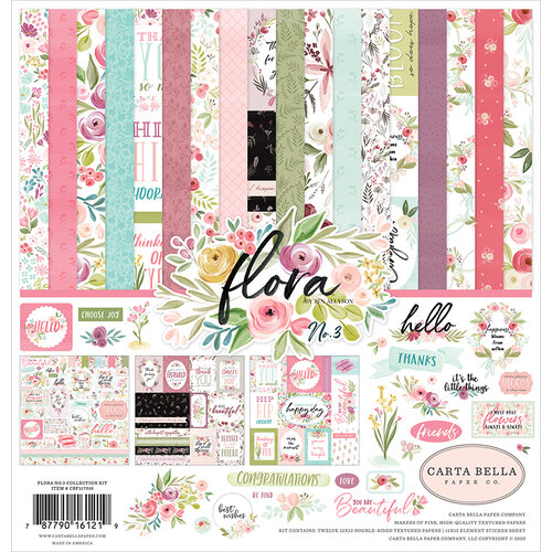 Carta Bella Paper - Flora No. 3 Collection - 12 x 12 Collection Kit