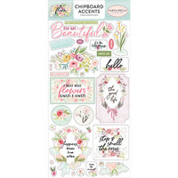 Carta Bella Paper - Flora No. 3 Collection - Chipboard Stickers - Accents