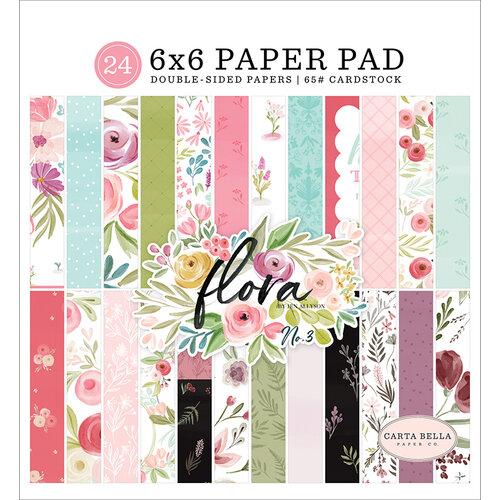 Carta Bella Paper - Flora No. 3 Collection - 6 x 6 Paper Pad