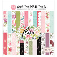 Carta Bella Paper - Flora No. 3 Collection - 6 x 6 Paper Pad