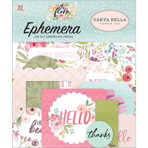 Carta Bella Paper - Flora No. 3 Collection - Ephemera