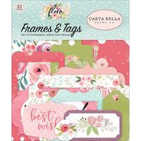 Carta Bella Paper - Flora No. 3 Collection - Ephemera - Frames and Tags