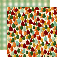 Carta Bella Paper - Fall Break Collection - 12 x 12 Double Sided Paper - Autumn Trees