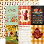 Carta Bella Paper - Fall Break Collection - 12 x 12 Double Sided Paper - 4 x 6 Journaling Cards