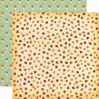 Carta Bella Paper - Fall Break Collection - 12 x 12 Double Sided Paper - Brisk Leaves