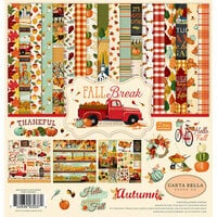 Carta Bella Paper - Fall Break Collection - 12 x 12 Collection Kit