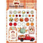Carta Bella Paper - Fall Break Collection - Decorative Brads