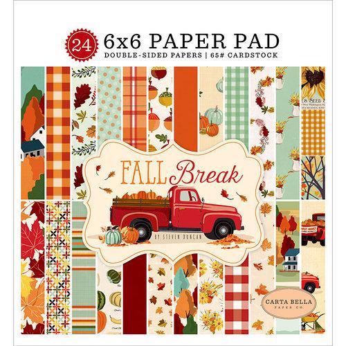 Carta Bella Paper - Fall Break Collection - 6 x 6 Paper Pad