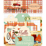 Carta Bella Paper - Fall Break Collection - Frames and Tags