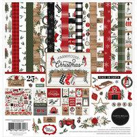 Carta Bella Paper - Farmhouse Christmas Collection - 12 x 12 Collection Kit