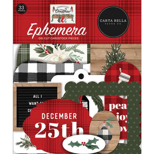 Carta Bella Paper - Farmhouse Christmas Collection - Ephemera