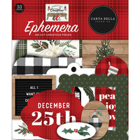 Carta Bella Paper - Farmhouse Christmas Collection - Ephemera