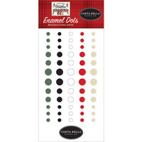 Carta Bella Paper - Farmhouse Christmas Collection - Enamel Dots