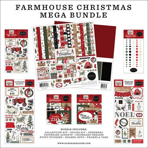 Carta Bella - Farmhouse Christmas Collection - Mega Bundle
