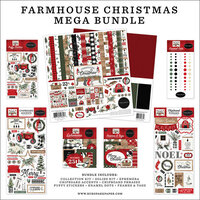 Carta Bella - Farmhouse Christmas Collection - Mega Bundle