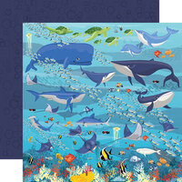 Carta Bella Paper - Fish Are Friends Collection - 12 x 12 Double Sided Paper - Underwater Scene