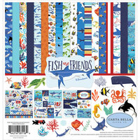 Carta Bella Paper - Fish Are Friends Collection - 12 x 12 Collection Kit