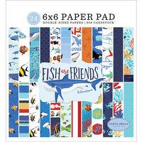 Carta Bella Paper - Fish Are Friends Collection - 6 x 6 Paper Pad