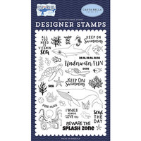 Carta Bella Paper - Fish Are Friends Collection - Clear Photopolymer Stamps - Under The Sea