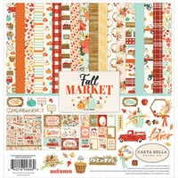 Carta Bella Paper - Fall Market Collection - 12 x 12 Collection Kit