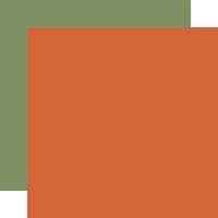 Carta Bella Paper - Fall Market Collection - 12 x 12 Doubled Sided Paper - Orange