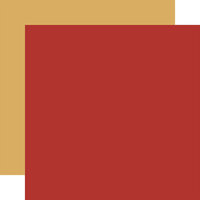 Carta Bella Paper - Fall Market Collection - 12 x 12 Doubled Sided Paper - Red