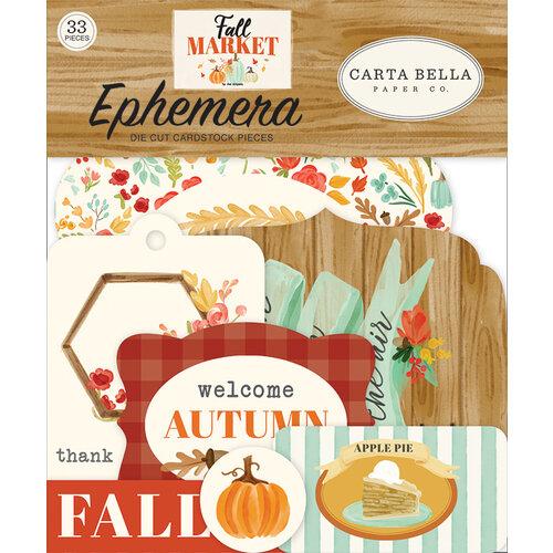 Carta Bella Paper - Fall Market Collection - Ephemera